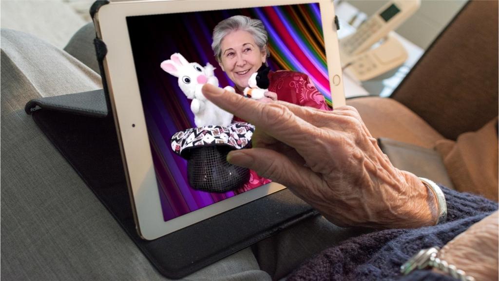 tablet abuela